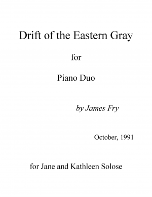 Drift of the Eastern Gray