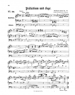 Prelude and Fugue, Op.18