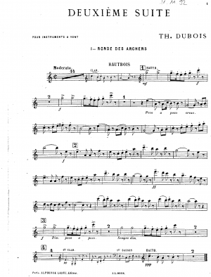Suite No.2 for Wind Instruments