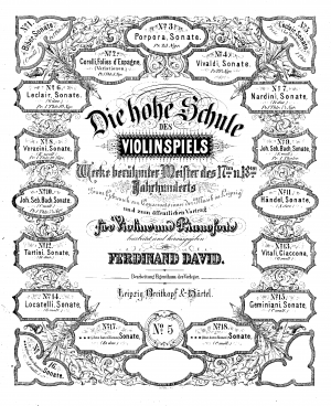 12 Sonatas for Violin and Continuo, Op.5 (or Book III)