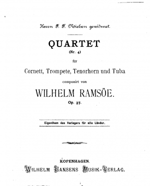 Brass Quartet No.4