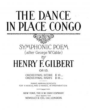 The Dance in Place Congo