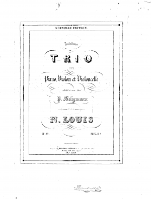 Piano Trio No.3, Op.99