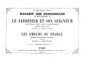 2 Quadrilles on Opera Themes of Delibes and Grisar