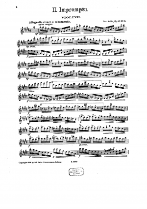 Four Pieces for Violin and Piano, Op. 16