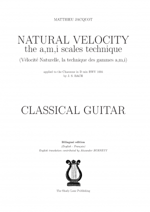 Natural Velocity, the a,m,i scales technique