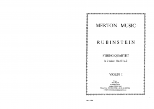 String Quartet No.2 in C minor