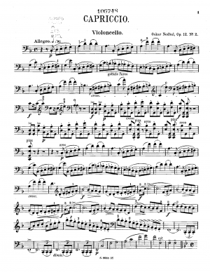 2 Pieces for Cello and Piano