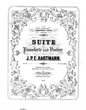 Suite for Piano and Violin