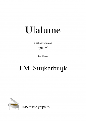 Ulalume, a ballad for piano