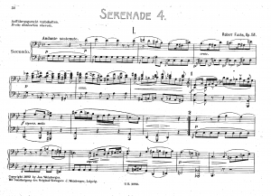 Serenade for Small Orchestra No.4