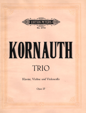 Piano Trio No.1, Op.27