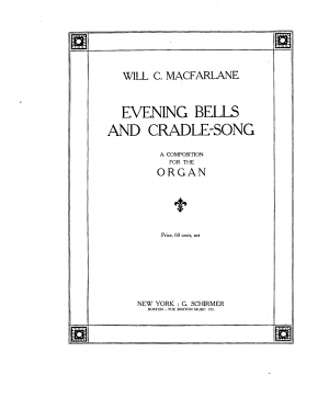 Evening Bells and Cradle Song
