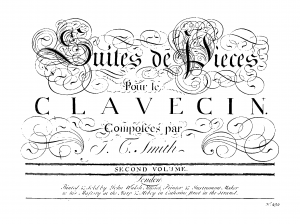 Suites de Pieces pour le Clavecin, Volume 2