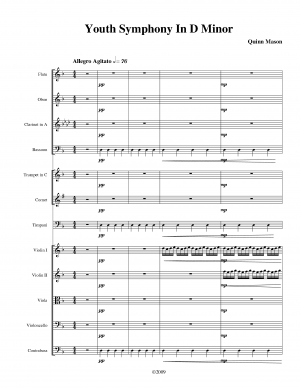Youth Symphony in D minor