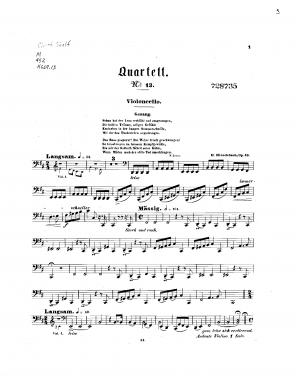 String Quartet No.13