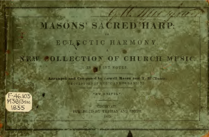 The Sacred Harp or Eclectic Harmony