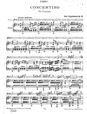 Concertino for Trombone and Orchestra, Op.35