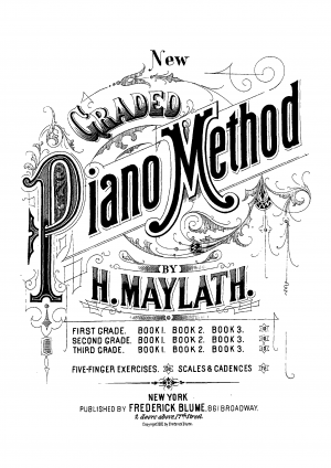 New Graded Piano Method