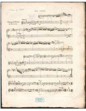 Concertino for Clarinet and Orchestra