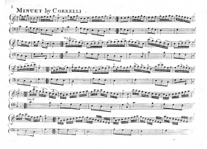Variations on a Minuet by Corelli