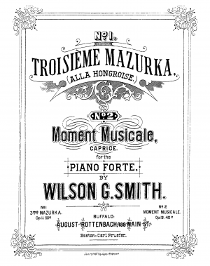 Moment Musicale, Op.13