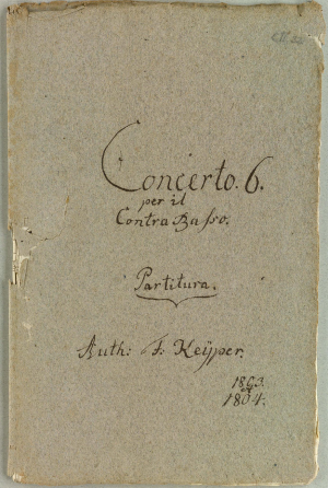 Concerto No.6 for Double Bass in C major