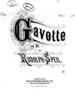 Speil, Rudolph sheet music