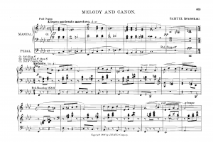 Melody and Canon