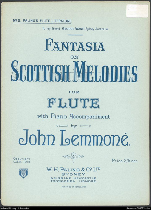 Fantasia on Scottish Melodies in F major