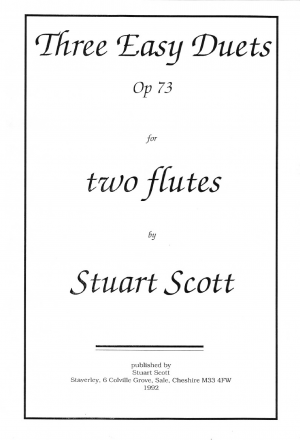 3 Easy Flute Duets