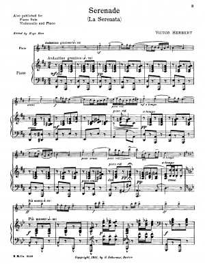 Suite for Cello and Orchestra, Op.3