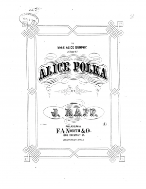 Alice Polka in C major