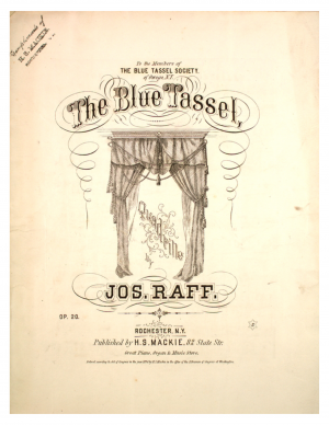 The Blue Tassel, Op.20